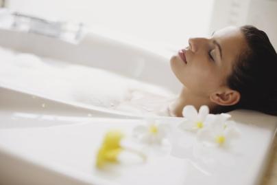 woman-bath