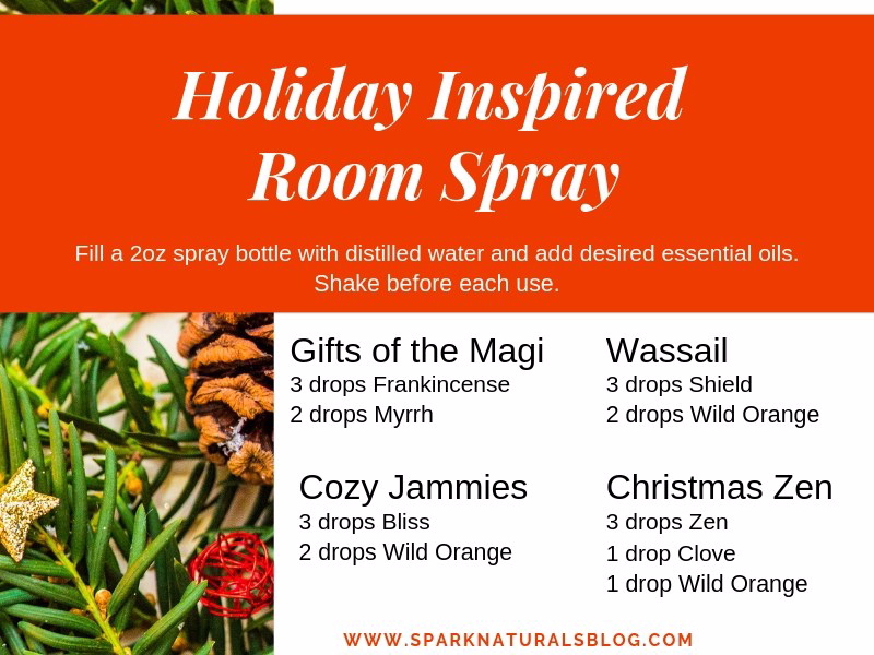 Holiday Inspired Room Spray